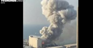 Καίγεται πλοίο στο λιμάνι της Βηρυτού – Τουλάχιστον 30 νεκροί και 3.000 τραυματίες