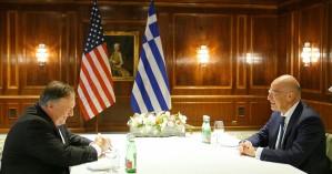 Δένδιας σε Πομπέο:Αποχώρηση της Τουρκίας από ελληνική υφαλοκρηπίδα κρίνει την αποκλιμάκωση
