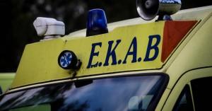 Ηράκλειο: Παράσυρση πεζού από διερχόμενο αυτοκίνητο - Δύο ασθενοφόρα του ΕΚΑΒ στο σημείο
