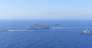 Κοινή ναυτική άσκηση Ελλάδας-Γαλλίας στην περιοχή της παράνομης τουρκικής NAVTEX (βιντεο)
