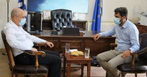 Εθιμοτυπικές συναντήσεις του δημάρχου με τον Ισραηλινό Πρέσβη και τον Διοικητή της βάσης