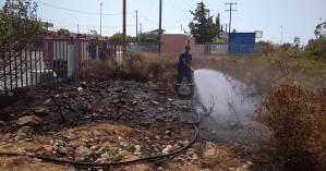 Φωτιά εκδηλώθηκε σε περιοχή των Κουνουπιδιανών στα Χανιά