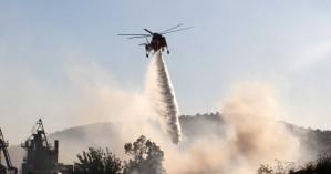 Νέα φωτιά ξέσπασε σε περιοχή της Κρήτης - Σηκώθηκε ελικόπτερο