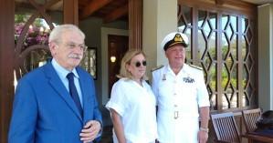 Ο Αρχηγός ΓΕΝ στην οικία - μουσείο του Ελ. Βενιζέλου στην Χαλέπα (φωτο - βίντεο)