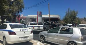 Χανιά: Αστυνομική καταδίωξη οδηγού 4x4 (φωτο)