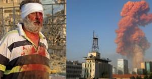 Χάος στη Βηρυτό: Δύο τεράστιες εκρήξεις, δεκάδες τραυματίες - Τρόμαξαν και στην Κύπρο