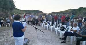 Τιμήθηκαν οι μαχητές του ΕΛΑΣ στον  Άναβο Σελίνου (φωτο)
