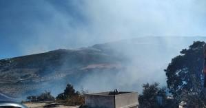 Υπό μερικό έλεγχο η φωτιά στο Σέλινο - Σε επαγρύπνηση δυνάμεις της πυροσβεστικής (φωτο)