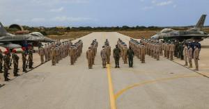 Στην 115 Πτέρυγα Μάχης ο Αρχηγός Ενόπλων Δυνάμεων των Ηνωμένων Αραβικών Εμιράτων (φωτο)