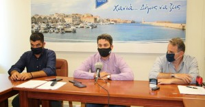 Υπογραφή συμβάσεων στο δημαρχείο Χανίων για την εκπόνηση μελετών για το Κουμ Καπί