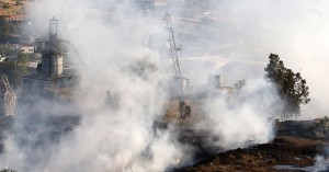 Πυρκαγιά στον ΧΥΤΑ Φυλής – Μήνυμα από το «112» για επικίνδυνους καπνούς