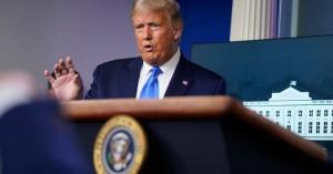 «Θα δούμε» – Η απάντηση Τραμπ για ειρηνική μεταβίβαση της εξουσίας αν χάσει τις εκλογές
