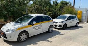 Με δωρεά 2 αυτοκινήτων από τη ΔΕΥΑΧ ενισχύεται η Κοινωνική Υπηρεσία και το Δημ. Γηροκομείο