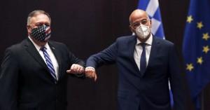 Πομπέο: Ενθουσιασμένος που επέστρεψα στην Ελλάδα -Δένδιας: Ισχυροί δεσμοί με τις ΗΠΑ