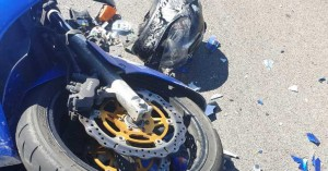Ζευγάρι μοτοσικλετιστών, νεκρό σε τροχαίο δυστύχημα (φωτο)
