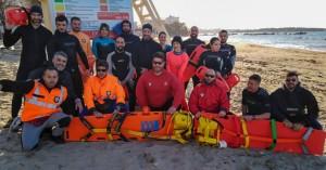 Εγγραφές στο 13ο σχολείο εθελοντών ναυαγοσωστών