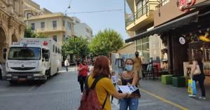 Με επιτυχία η εθελοντική αιμοδοσία της ΚΝΕ στο Ηράκλειο