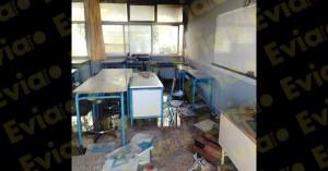 Χαλκίδα: Έβαλαν φωτιά και κατέστρεψαν υπό κατάληψη σχολείο