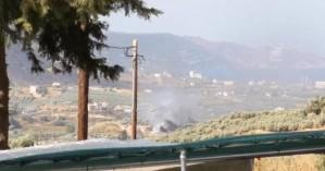 Μεγάλες ζημιές σε εργοστάσιο από τη φωτιά που ξέσπασε στον Κρουσώνα (φωτο)