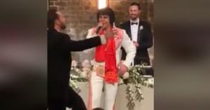 Αυστραλία: Ο «Έλβις Πρίσλεϊ» τραγουδάει Βασίλη Καρρά σε γάμο - Δείτε βίντεο