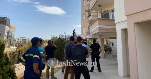 Γυναίκα απειλεί ότι θα κάψει το σπίτι της στα Χανιά (φωτο)
