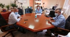 Συνάντηση της Διοίκησης με τον Καθηγητή Δ. Γεωργόπουλο για τις νέες ΜΕΘ