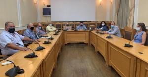 Σύσκεψη για τα ζητήματα μεταφοράς μαθητών στην Π.Ε.  Ηρακλείου