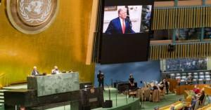 Αψιμαχίες ΗΠΑ – Κίνας στη Γενική Συνέλευση του ΟΗΕ – Τραμπ: «Απελευθέρωσαν την πανούκλα»