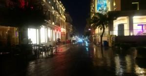 Βροχή με το τουλούμι στο Ηράκλειο - Πλημμύρισαν δρόμοι (φωτο)