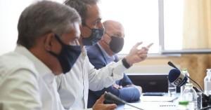 Μητσοτάκης από Καρδίτσα: Με διαδικασίες εξπρές οι αποζημιώσεις για τον Ιανό
