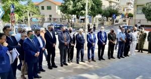 Τιμήθηκε στο Ηράκλειο η ημέρα Εθνικής Μνήμης της Γενοκτονίας των Ελλήνων της Μ. Ασίας