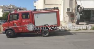 Χανιά: Φωτιά σε σπίτι κινητοποίησε την πυροσβεστική (φωτο)