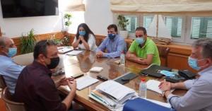 Συνάντηση Περιφερειάρχη με τα Εργατικά Κέντρα για την  εκτίμηση αναγκών σε εργάτες