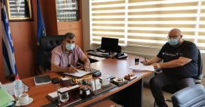 Υπεγράφη η σύμβαση για την αποκατάσταση του δρόμου Βολεώνων - Ι.Μ. Αγ. Αντωνίου