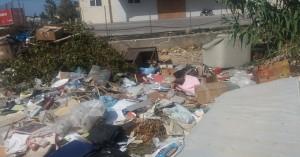 Το απέραντο σκουπιδαριό της Κ. Φούμη στα Χανιά (φωτο)