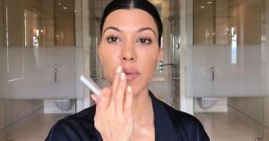 Το beauty trick της Kourtney Kardashian για να μην φαίνεται έντονα βαμμένη