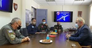 Σε στρατιωτικές εγκαταστάσεις των Χανίων ο Βασίλης Διγαλάκης