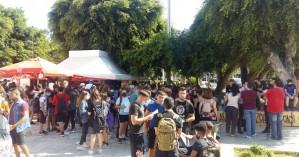 Και πάλι στους δρόμους μαθητές και καθηγητές στα Χανιά