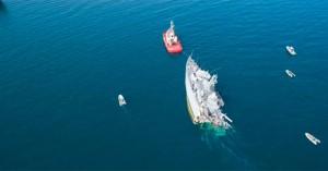 Αδύνατη η επισκευή του «Καλλιστώ» μετά τη σύγκρουση – Πόσο κοστίζει ένα αντίστοιχο πλοίο