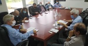 Τα περιβαλλοντικά έργα του δήμου Γόρτυνας στο επίκεντρο σύσκεψης στον ΟΑΚ