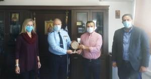 Με τον Γενικό Αστυνομικό Δ/ντή Κρήτης συναντήθηκαν μέλη της Ένωσης Αξιωματικών ΕΛΑΣ Κρήτης