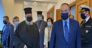 Τον Μητροπολίτη Κυδωνίας Αποκορώνου επισκέφθηκε ο Γ. Πλακιωτάκης