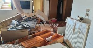 Είδαν το βιος τους να καταστρέφεται από τις λάσπες -Πλημμύρισαν κτίρια στο Ηράκλειο (φωτο)