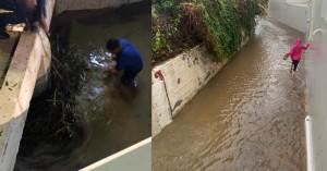 Χανιά:Τι ζητούν οι κάτοικοι που χθες μπήκαν μέσα σε ρέμα για να σώσουν τις περιουσίες τους