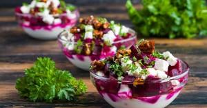 Πώς να φτιάξετε σπιτική παντζαροσαλάτα με γιαούρτι