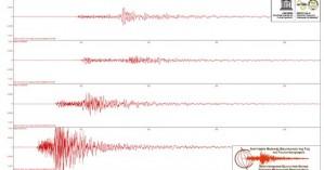 Πώς καταγράφηκαν οι δυο σεισμοί στην Κρήτη από τους σεισμολογικούς σταθμούς