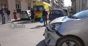 Τροχαίο ατύχημα με τραυματισμό σε δρόμο των Χανίων (φωτο)
