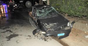 Σφοδρό τροχαίο ατύχημα στην Μεσαρά (φωτο)