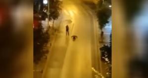 Βίντεο: Δείτε τι έκαναν δύο νεαροί στην Κοζάνη κατά το νυχτερικό lockdown