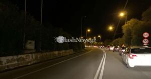 Μποτιλιάρισμα χιλιομέτρων στην εθνική οδό Χανίων – Ρεθύμνου (φωτο)